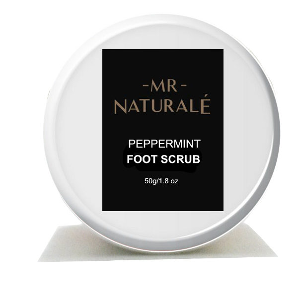 Mr Naturale Natural Foot Scrub For Men-50grams