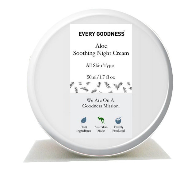 aloe soothing night cream by everygoodness